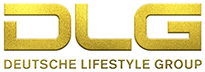 Deutsche Lifestyle Group Logo Gold